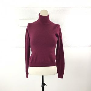 Brooks Brothers Size XS Turtleneck Red Sweater